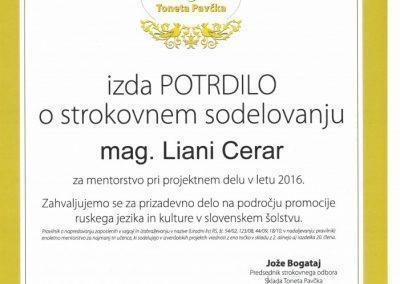 ZAHVALA LIANI CERAR ZA NL 2016 OD SKLADA04022017