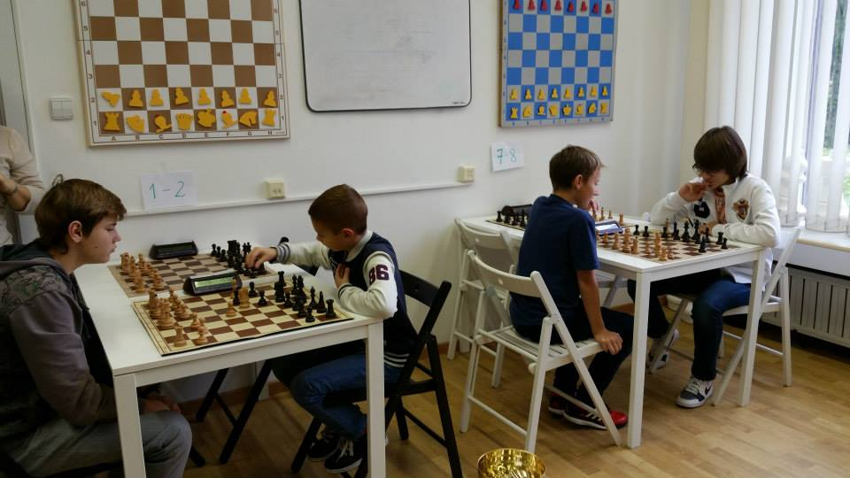 Первый шахматный турнир