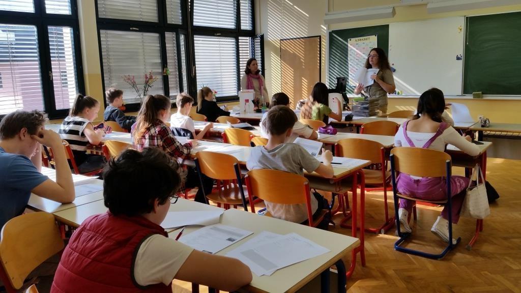 Олимпиада по русскому языку в Словении