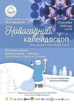Новогодний праздник в Любляне!