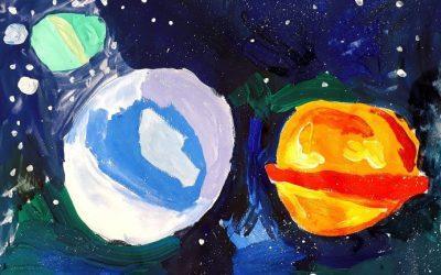 Конкурс детского рисунка «Вперед, к звездам!»